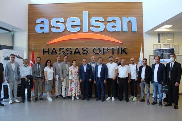 Sabah Gazetesi yazarları Aselsan'ı ziyaret etti.