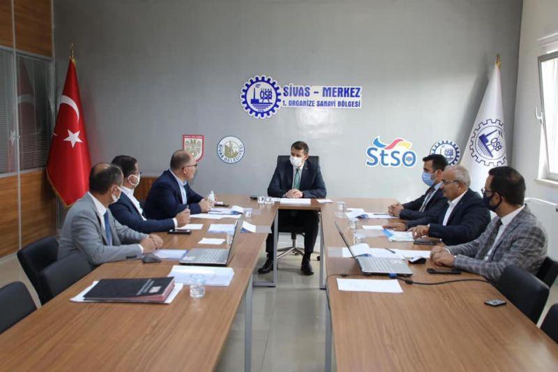 Sivas-Merkez 1. OSB Yönetim Kurulu Toplantısı gerçekleştirildi.