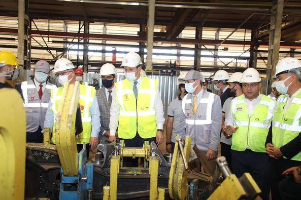 Valimiz Salih Ayhan ve OSB Müdürümüz Emre Torun RC ENDÜSTRİ firmasını ziyaret ettiler.