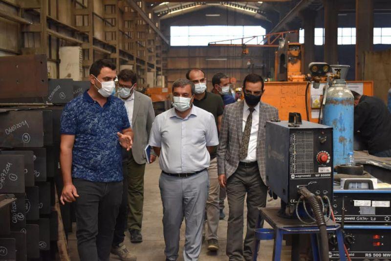 OSB Müdürümüz Emre Torun, SBTÜ Rektörü Prof. Dr. Mehmet Kul ile birlikte Gök Yapı firmasını ziyaret ettiler.