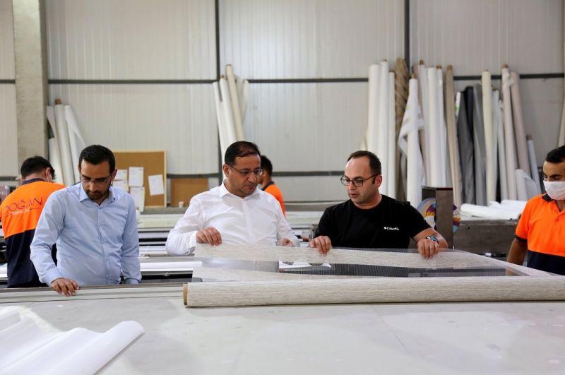 OSB Müdürümüz Emre Torun ve STSO Başkanı Mustafa Eken Doğan Birlik Grup firmasını ziyaret etti.